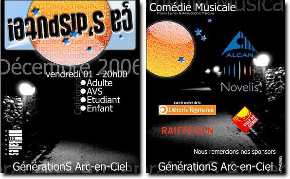 "Ticket comédie musicale ""ça s'dispute"""
