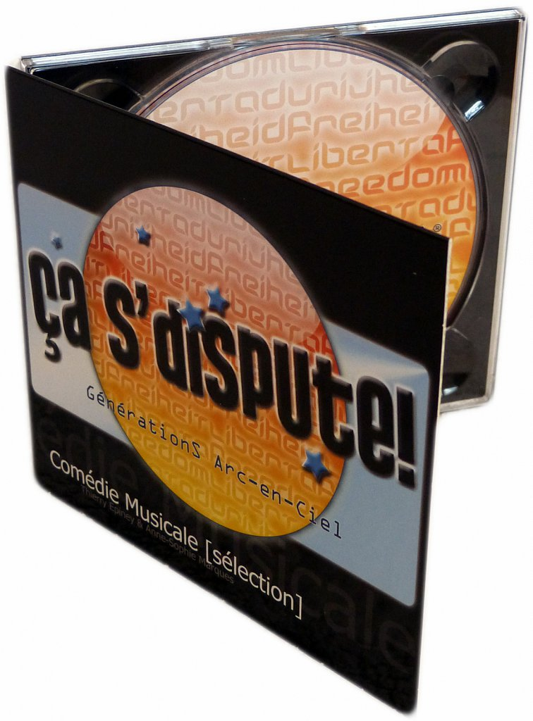 "CD comédie musicale ""ça s'dispute"""