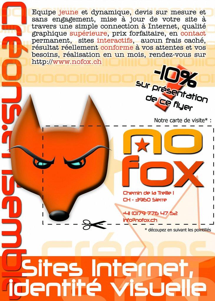 Flyer NOFOX
