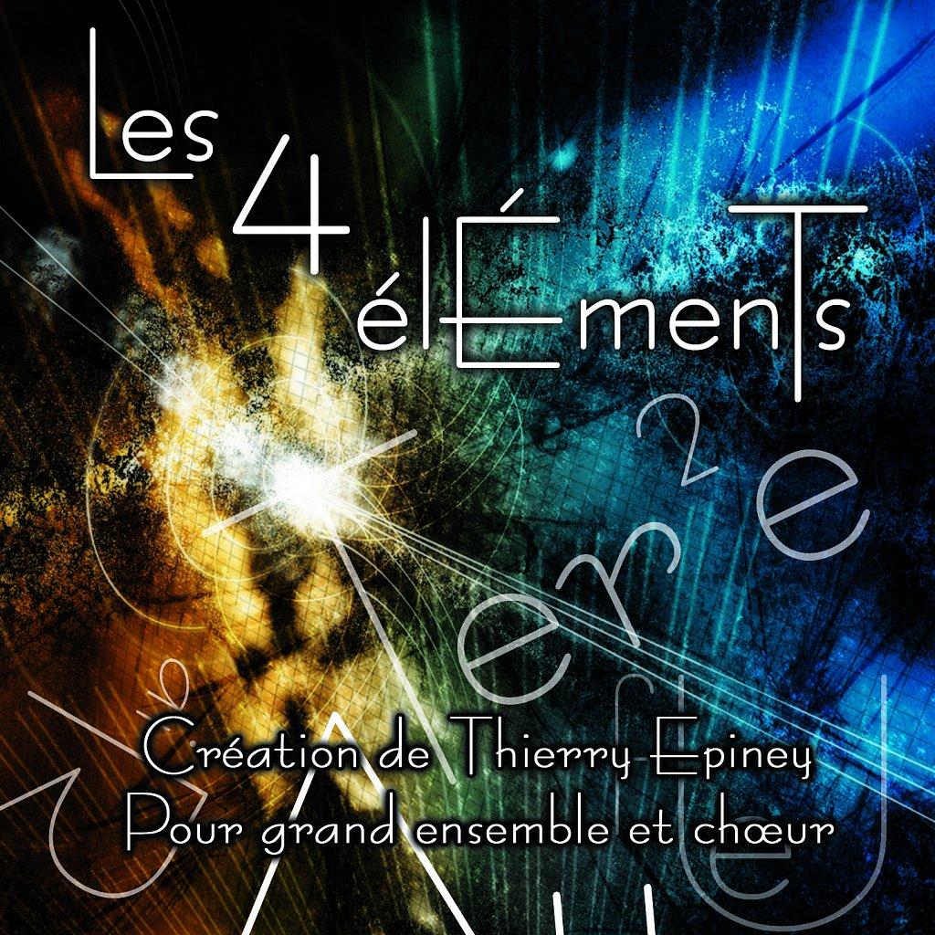 Pochette CD Les 4 Elements (intérieur)